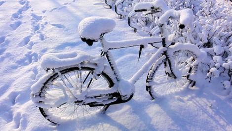 Krafttraining - Schnee hält nicht vom Training ab