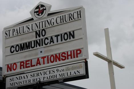 """""""Eine gute Kommunikation verbindet"""" foto: flickr.com Len Matthews"""