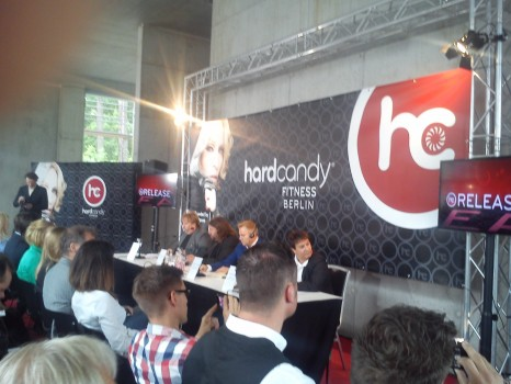 Pressekonferenz Madonna Hard Candy Fitness