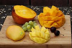 Mango-Eiweiß-Bombe