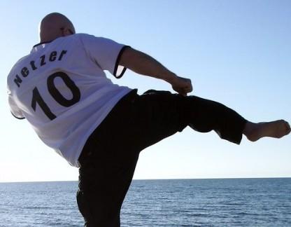 Fitness im Urlaub - Netzer's Perückenverlust an der Ostsee?? Nein, Cool Down nach Public Viewing Deutschland-England 4:1