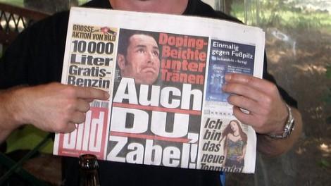 Dopingbeichte Eric Zabel Bildzeitung