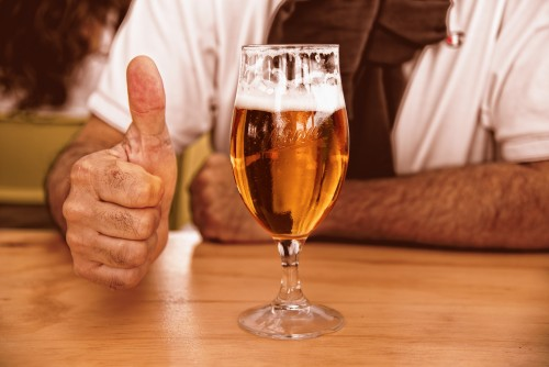 Bier, das ideale Fitnessgetränk!